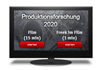 Freek im Film Produktionsforschung 2020