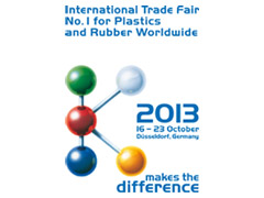K Messe 2013 - International Trade Fair No. 1 for Plastics and Rubber Worldwide