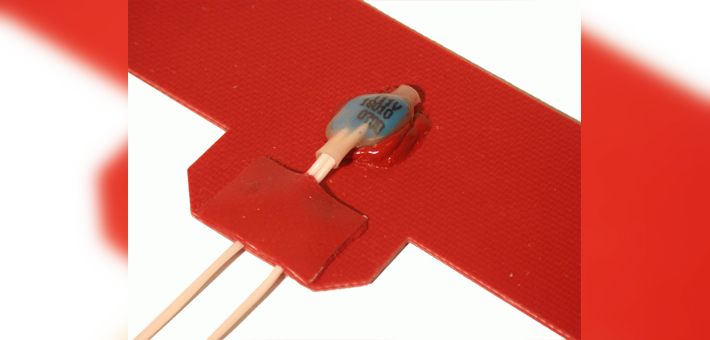 Silicone heating mat with Pepi limiter