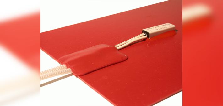 Silicone heating mat with Ushiya limiter